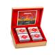 Tea Caddy - Coffret en bois de thé et Rooibos