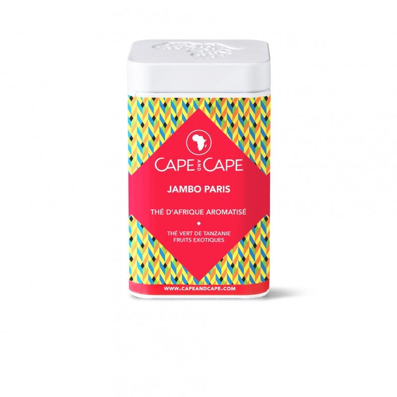 Jambo Paris - Thé vert de Tanzanie aromatisé