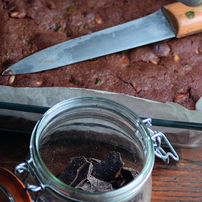 Fondant chocolat‑rooibos