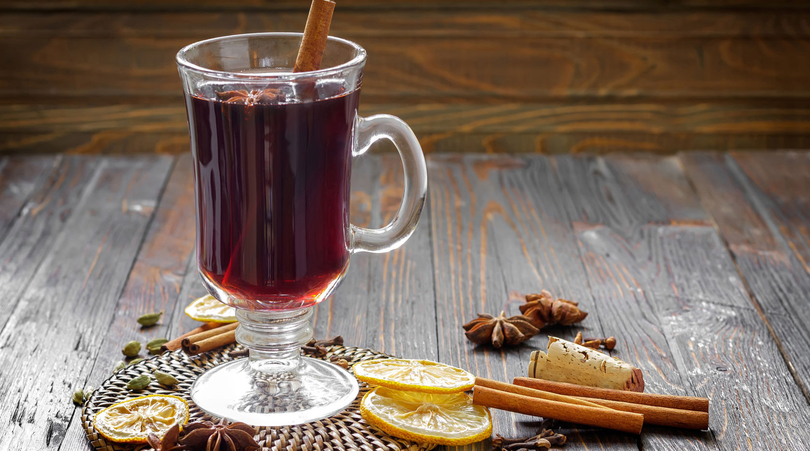 Mulled wine with Rooibos