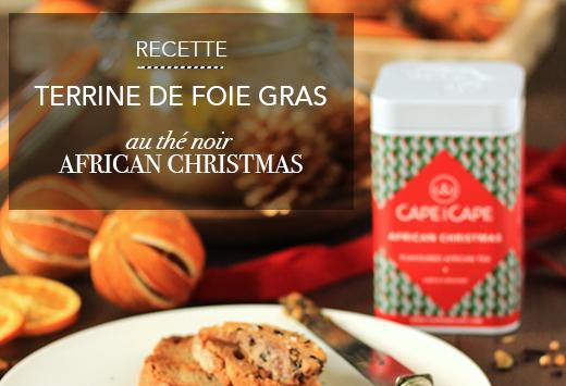 Foie gras African Christmas